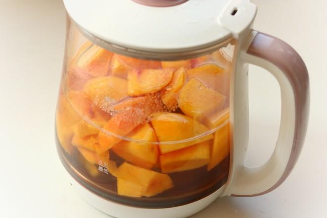 黄桃糖水的简单做法