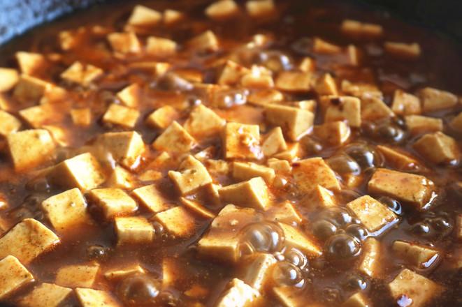 麻婆豆腐的简单做法