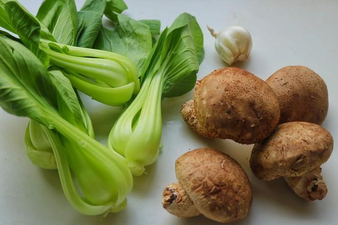 香菇炒油菜的做法大全