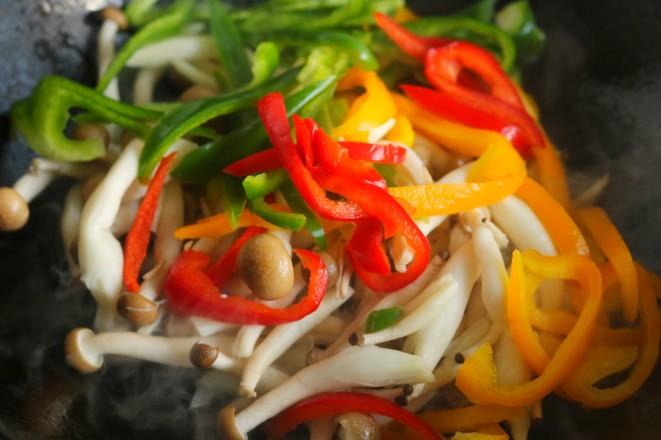 海鲜菇炒虾仁怎么吃