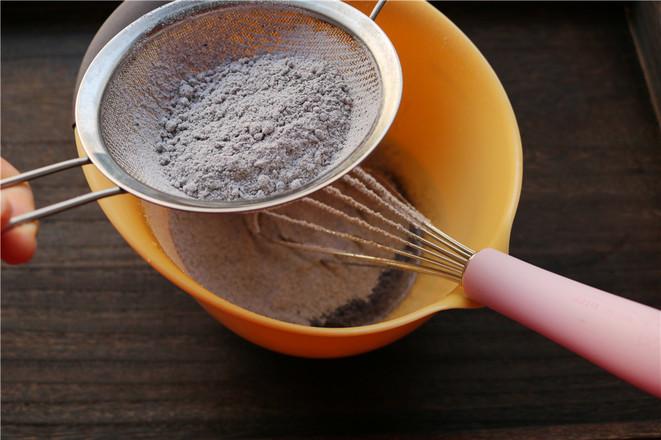黑米粉戚风蛋糕的家常做法