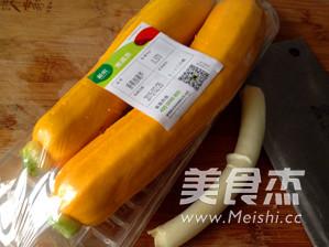 清炒香蕉西葫芦的做法大全