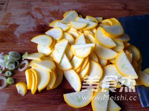 清炒香蕉西葫芦的做法图解