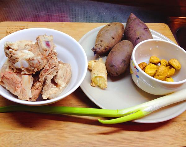 板栗土豆烧排骨的做法大全