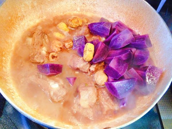 板栗土豆烧排骨怎么做