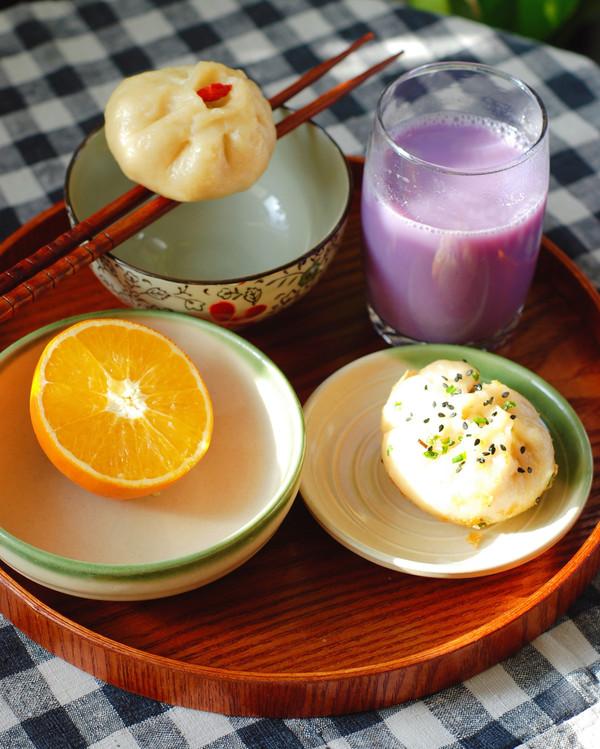 紫薯豆浆怎么吃