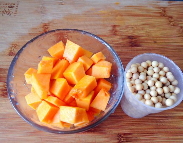南瓜豆浆的做法大全