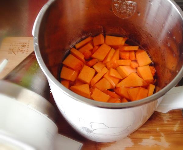 南瓜豆浆的做法图解