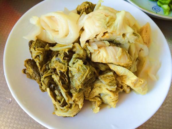 酸菜汆白肉的做法图解