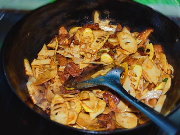 春笋炒肉的简单做法