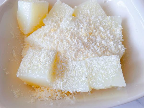 椰蓉牛奶小方怎么做