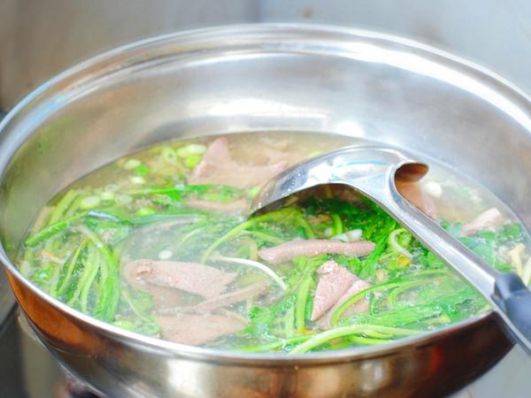 蒲公英猪肝汤的家常做法