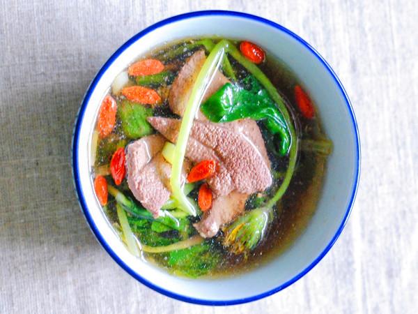 蒲公英猪肝汤的简单做法