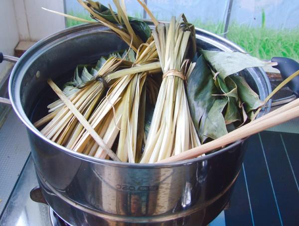 五谷杂粮粽子的步骤