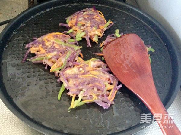 紫土豆饼怎样做