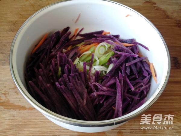 紫土豆饼怎么吃