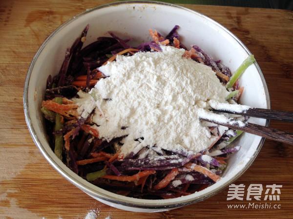紫土豆饼怎么做