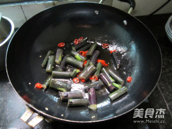 清炒红菜苔怎么吃
