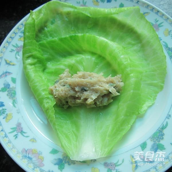 香煎翠绿包菜卷怎么吃