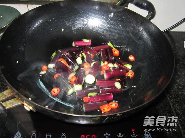 清炒红菜苔的家常做法