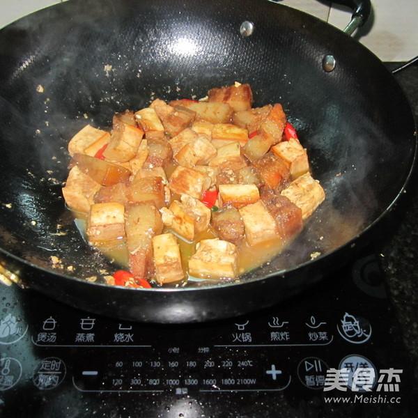 豆腐干烧腊肉怎么煮