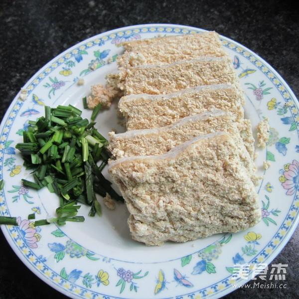 韭菜豆腐渣的做法图解