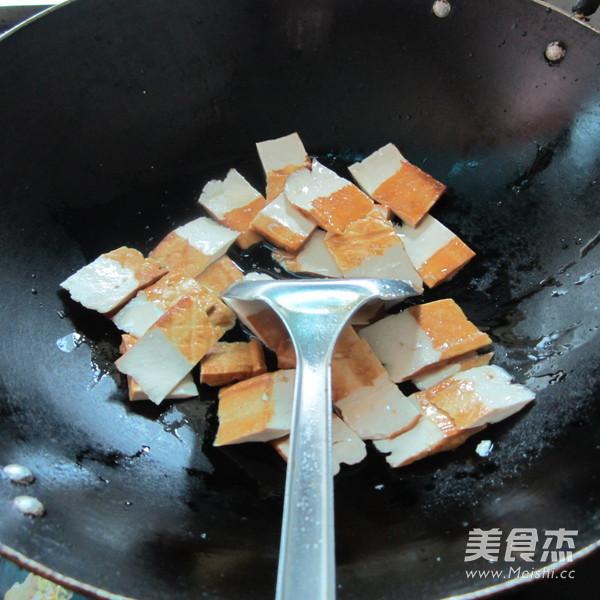鱼香香干片的做法图解