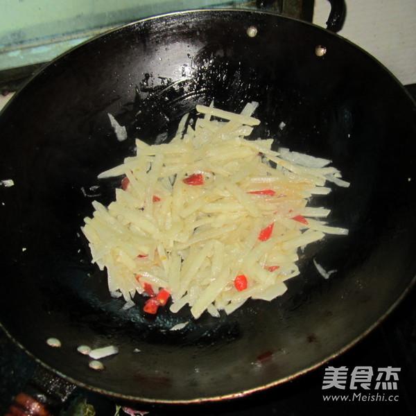 炒凉薯怎么做
