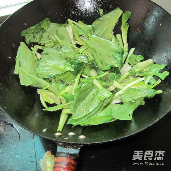 炒小白菜的家常做法