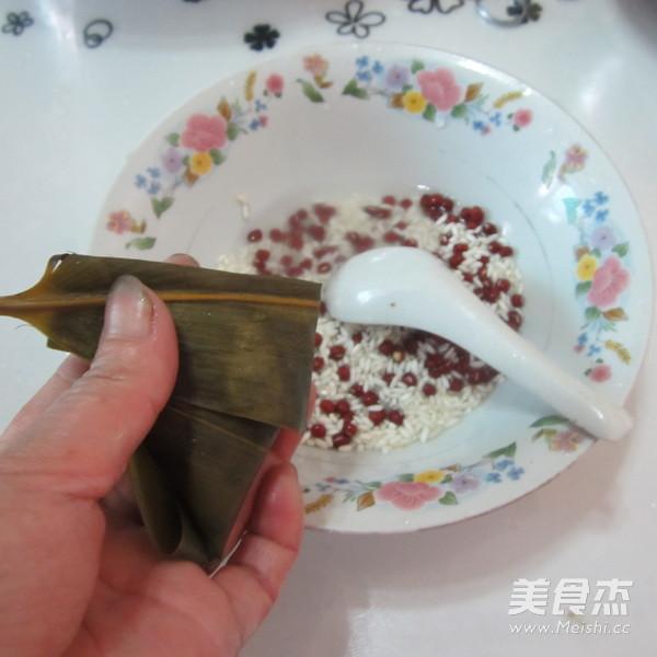 红豆粽子怎么做
