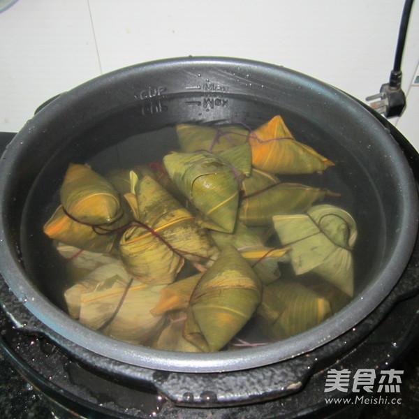 红豆粽子怎么炖