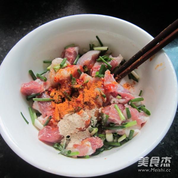 葱香猪肉糯米粽的简单做法