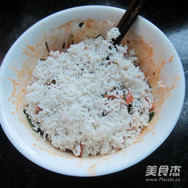 葱香猪肉糯米粽怎么做