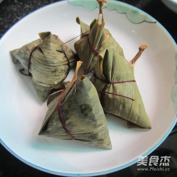 葱香猪肉糯米粽怎样做