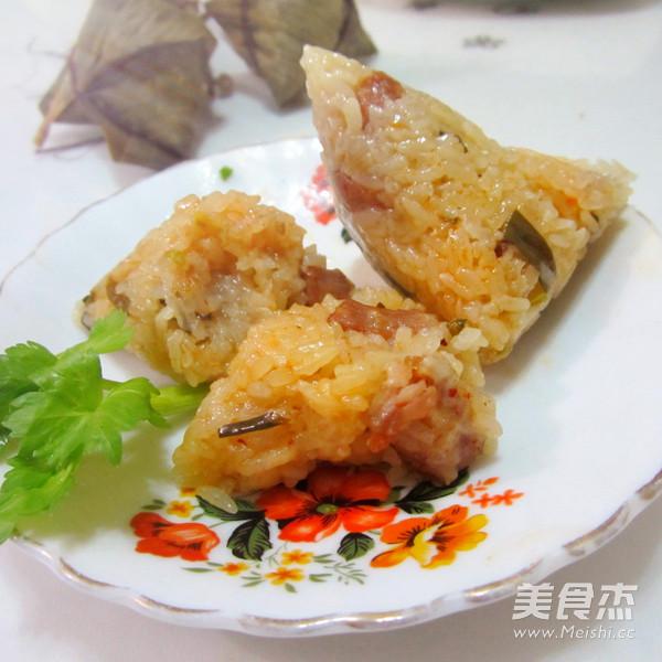 葱香猪肉糯米粽怎样炒