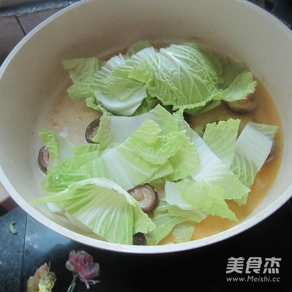 白菜煮香菇的简单做法