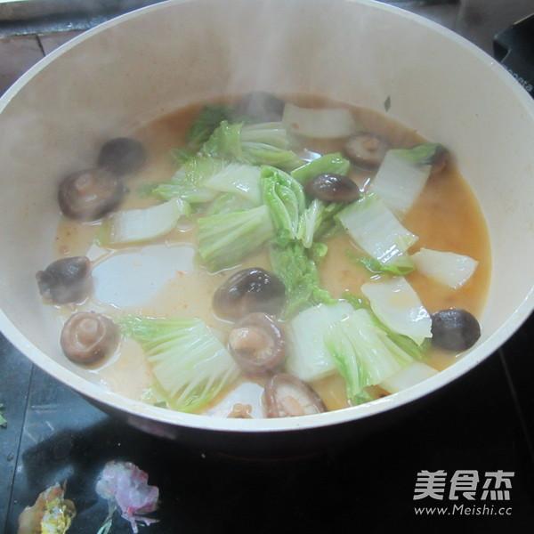 白菜煮香菇怎么炒