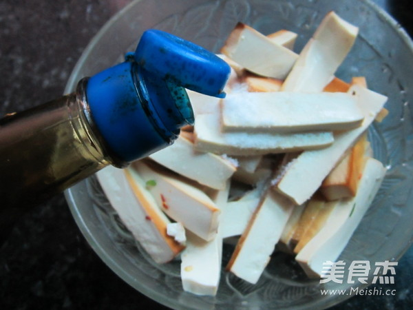 烤箱烤豆腐的简单做法