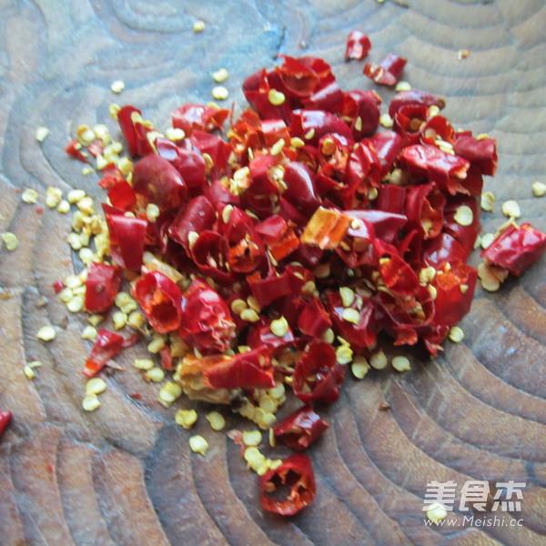 干辣椒蒸肉的简单做法