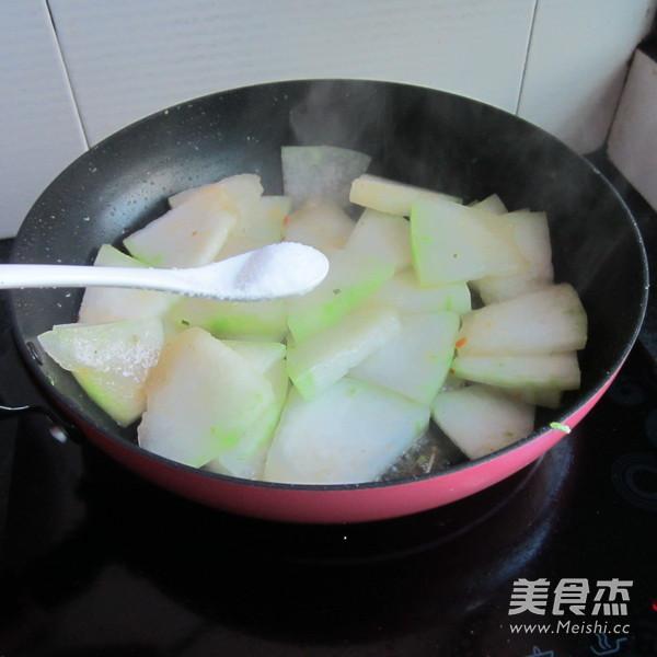 肉末煎冬瓜怎么煮