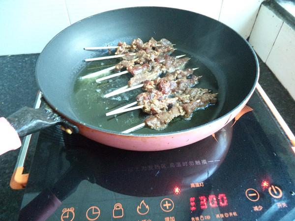 烤羊肉串怎么炒