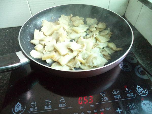 蒜苔炒五花肉的做法图解