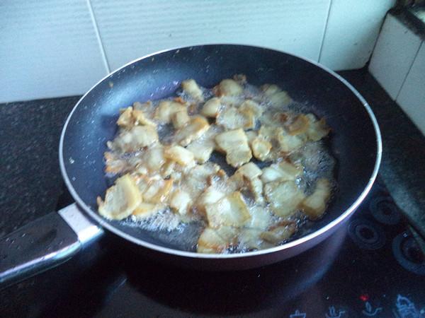 蒜苔炒五花肉的家常做法