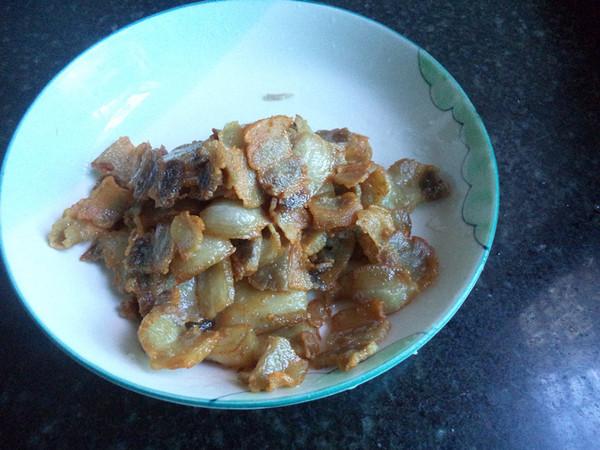 蒜苔炒五花肉的简单做法