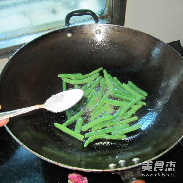 素炒四季豆的简单做法