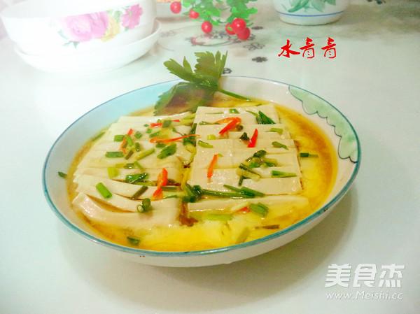 豆腐蒸蛋怎样炒