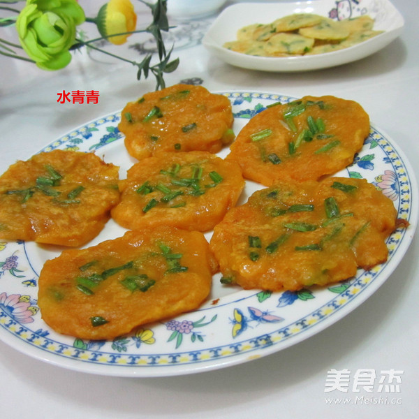 葱香南瓜饼怎样做