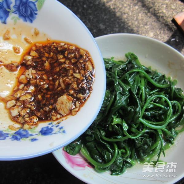 凉拌蒜香藤菜怎样煮