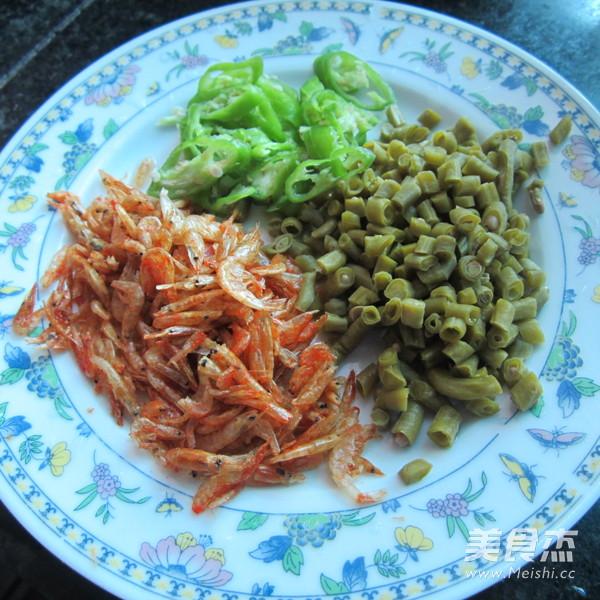 酸豆角虾米挂面的做法图解