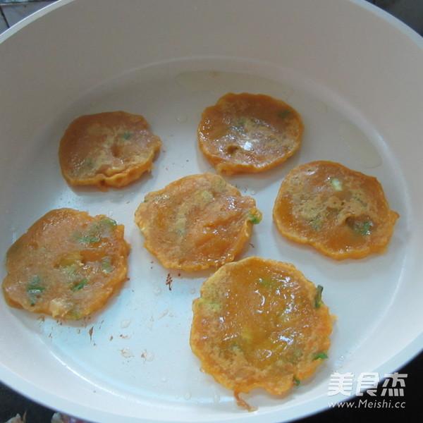 葱香南瓜饼怎么煸